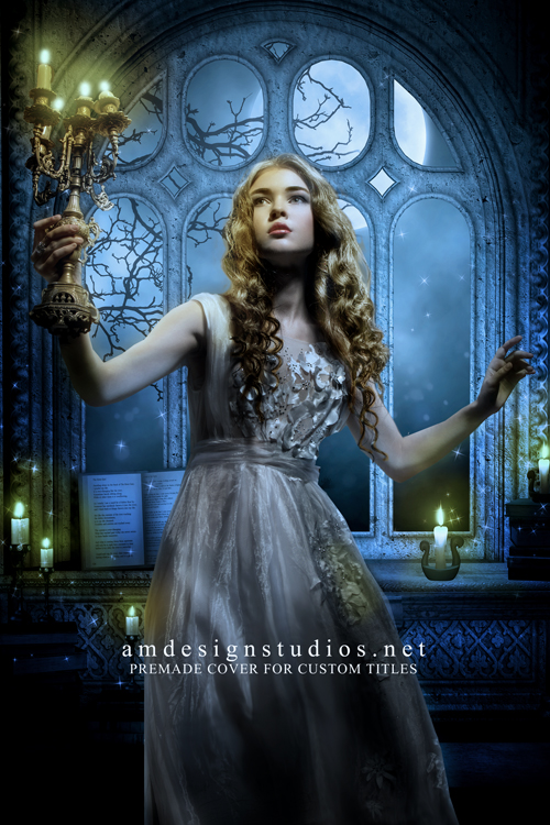 4120 Premade book cover for Fairy Tale, Paranormal Romance, Fantasy Romance, Gothic, Vampire, Ghost, Young Adult, Magic