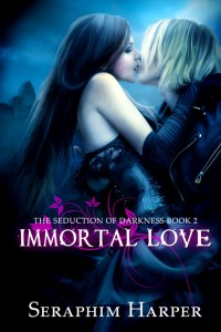 Premade Young Adult Paranormal Romance Book Cover - Vampires Witches