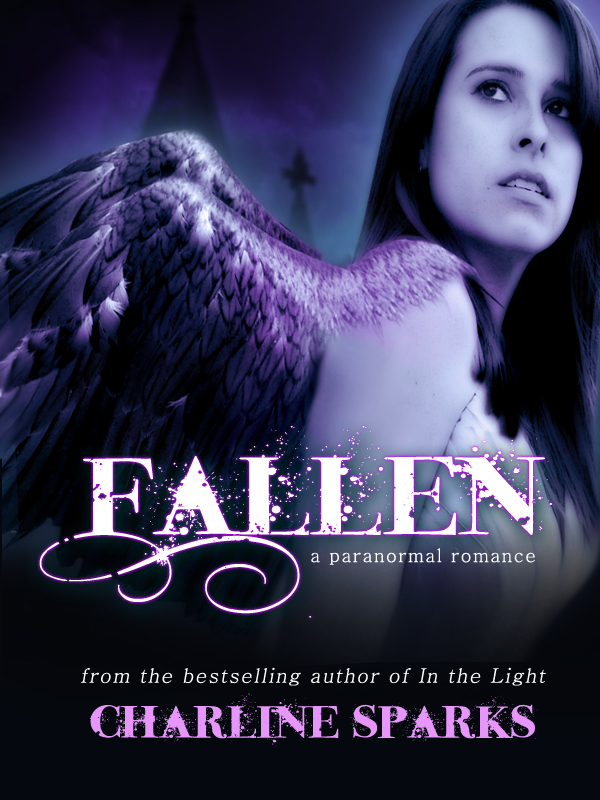 Premade Paranormal Fallen Angel / Dark Angel ebook Cover Design- $49
