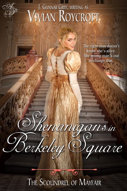 regency romance book cover design