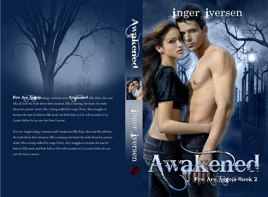 paranormal romance book cover design