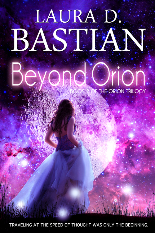Young Adult Sci-Fi Romance Book Cover Design