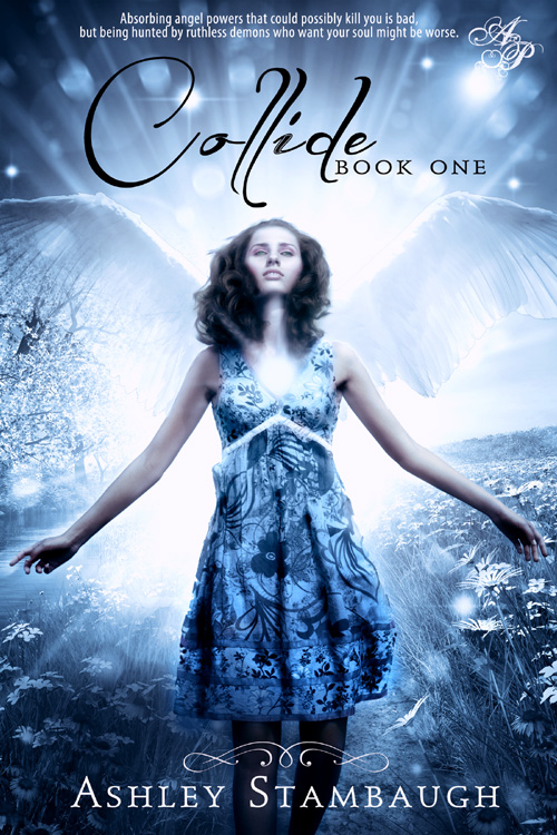 angels book cover design