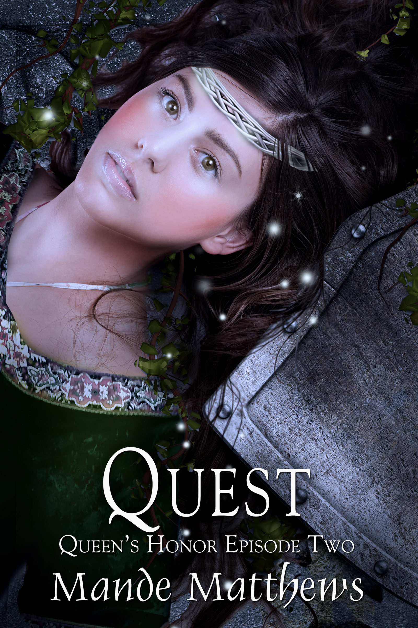 medieval fantasy book cover design