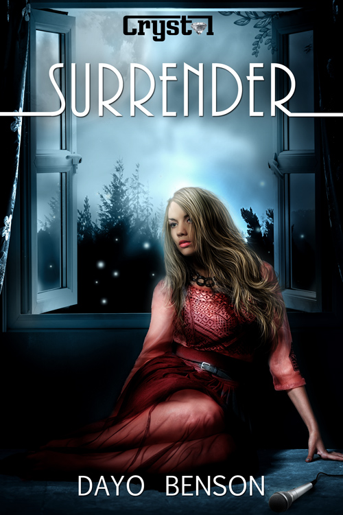 paranormal book cover design